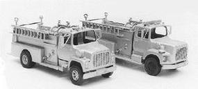Alloy-Forms Ford LN Pumper Truck HO Scale Model Railroad Vehicle #7007