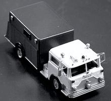 Alloy-Forms CRV-18 Mack Heavy Rescue Unit HO Scale Model Railroad Vehicle #7042