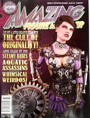 Amazing Figure Modeler Magazine Amazing Figure Modeler Magazine Issue #60