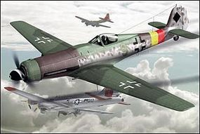 ArtModelKits Focke Wulf TA152/H1 German Interceptor Aircraft Plastic Model Airplane Kit 1/72 #7204