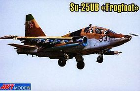 ArtModelKits Sukhoi Su25UB Aircraft Plastic Model Airplane Kit 1/72 Scale #7212