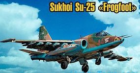 ArtModelKits Sukhoi Su25 Frogfoot Aircraft Plastic Model Airplane Kit 1/72 Scale #7215