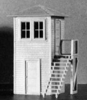 AM Jennysville Tower HO Scale Model Railroad Building #105