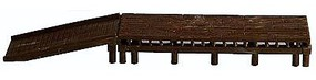 AM Short Loading Dock HO Scale Model Railroad Building Accessory #118