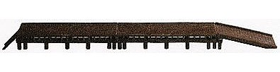 AM Long Loading Dock HO Scale Model Railroad Building Accessory #119