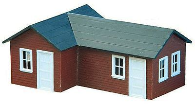 AM Pats Place HO Scale Model Railroad Building #122