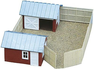 AM Nates Scrap Yard HO Scale Model Railroad Building #123