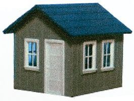 AM Small Yard Office - Kit HO Scale Model Railroad Trackside Accessory #127