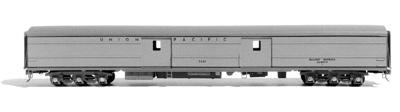 American Model Builders Union Pacific 5631 Series Baggage Sides -- HO Scale Model Train Passenger Car -- #1000