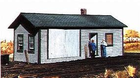 American-Models Railroad Supply Building Kit HO Scale Model Railroad Building #118