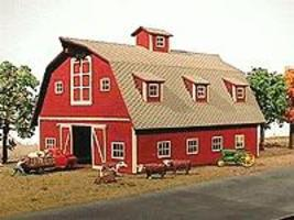 American-Models Country Barn Kit HO Scale Model Railroad Building #119