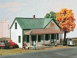 American-Models Corydon General Store/Post Office Kit HO Scale Model Railroad Building #123