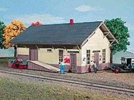 American-Models New Haven Passenger Depot Building Kit HO Scale Model Railroad Building #148