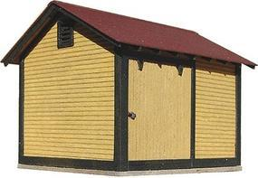 American-Models ATSF Standard Section Tool House Kit HO Scale Model Railroad Building #169