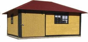 American-Models ATSF Signal Maintainers House Kit HO Scale Model Railroad Building #174