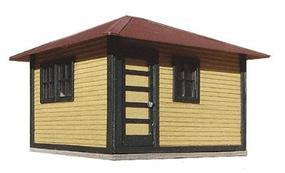 American-Models ATSF Signal Maintainers House Kit HO Scale Model Railroad Building #175