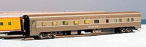American Model Builders ''Cascade'' Series 10-5 Pool Sleeper Car Sides -- HO Scale Model Train Passenger Car Part -- #2000