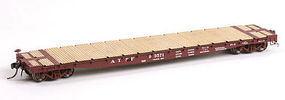 American-Models Wood Deck for ExactRail 53'-6 GSC Flat Car HO Scale Model Train Freight Car #203