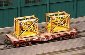 American-Models Generator Crates pkg(2) Kit (Laser-cut Wood) HO Scale Model Train Freight Car Load #213