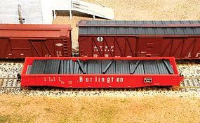 American-Models Railroad Tie Stacks Kit for 53 Gondola HO Scale Model Train Freight Car Load #214