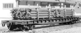 American-Models Lumber for a Flat Car HO Scale Model Train Freight Car Load #289