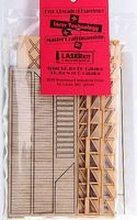 American-Models Wooden Freight Loading Dock (2) HO Scale Model Railroad Building Accessory #327