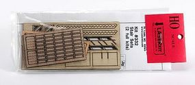 American-Models Stair Set (2) HO Scale Model Railroad Building Accessory #332