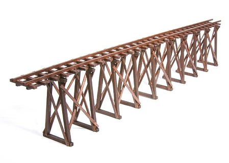 American Model Builders Mine Trestling Kit -- O Scale Model Railroad Bridge -- #452