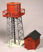 American-Models Water Tank w/Pump House Kit (Laser-Cut Wood) O Scale Model Railraod Building #473
