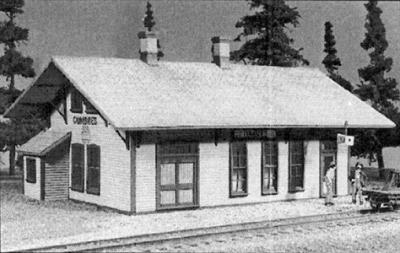 American-Models Denver & Rio Grande Western Cumbres Depot O Scale Model Railraod Building #476