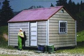 American-Models Long Bell Lumber Co. Skid Shack Kit O Scale Model Railroad Building #479