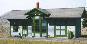 American-Models Springfield Depot Kit O Scale Model Railroad Building #480
