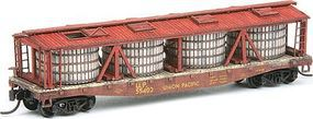 American-Models Pickle Car Conversion Kit Fits Red Caboose Flatcar N Scale Model Train Freight Car #526