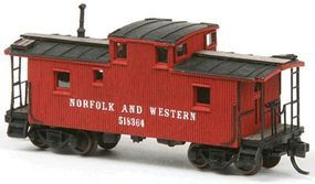 American-Models Norfolk & Western CF Class Wood Cupola Caboose Kit N Scale Model Train Freight Car #552