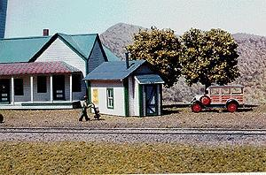 American-Models Miners Cabin Kit N Scale Model Railroad Building #603