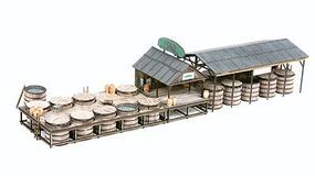 American-Models The Pickle Works G. R. Dill & Sons Salting Station Kit N Scale Model Railroad Building #625