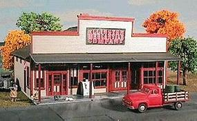 American-Models Ellington Mercantile Kit N Scale Model Railroad Building #635