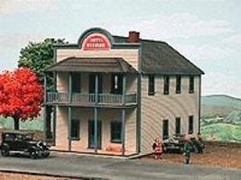 kit Laser Cut American Model Builders #636 Springfield Cafe