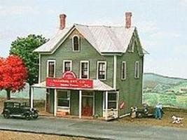 American-Models Nine Mile House & Tavern Kit N Scale Model Railroad Building #645