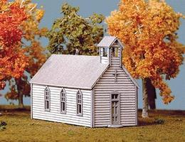 American-Models Crossroads Church Kit N Scale Model Railroad Building #691