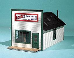 American-Models McCormacs Dry Goods (False Front Building Kit) N Scale Model Railroad Building #693