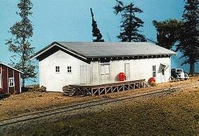 American-Models Freight House Kit HO Scale Model Railroad Building #701