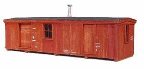 American-Models Boxcar Depot Set (D) Kit HO Scale Model Railroad Building #717