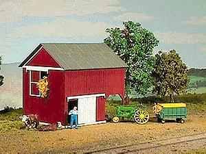 Loft barn kit ho scale model railroad building 794 by Loft barn kits