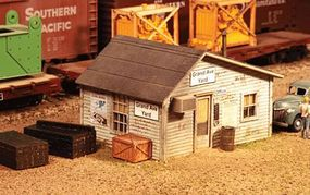 American-Models Grand Avenue Yard Office Kit HO Scale Model Railroad Building #795
