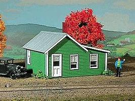 American-Models Company House Kit - 2-3/4 x 2-1/2 x 2 HO Scale Model Railroad Building #798