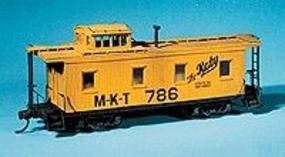 American-Models Caboose - Kit (Laser-cut Wood) - Katy HO Scale Model Train Freight Car #850