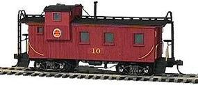 American-Models 28 Caboose Kit Chicago Great Western HO Scale Model Train Freight Car #857