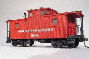 American-Models Class CF Caboose - Kit Norfolk & Western HO Scale Model Train Freight Car #864