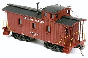 American-Models Lehigh Valley Cupola Caboose Kit Undecorated HO Scale Model Train Freight Car #878